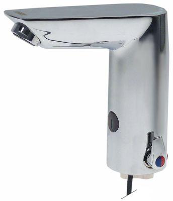 βρύση με αισθητήρα χαμηλή πίεση 230VAC  μήκος στομίου 106/144 mm ύψος στομίου 118/140 mm