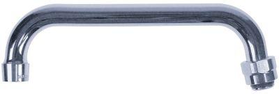 στόμιο HU ø σωλήνα 16mm προεκβολή 205mm ύψος στομίου 65mm συνολικό ύψος 135mm