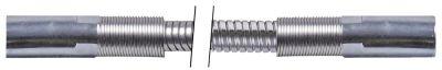 σωλήνας ψεκασμού συνδέσεις 1/2″  Μ 1000mm Ανοξείδωτο ατσάλι πίεση λειτ. 10bar