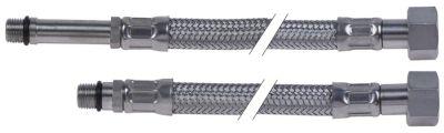 σωλήνας εύκαμπτος Ανοξείδωτο ατσάλι DN8  συνδέσεις 3/8″ - M10x1  Μ 500mm πίεση λειτ. 10bar