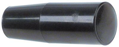 κυλινδρική λαβή σπείρωμα M8x1,25  ø 25mm Μ 72mm πλαστικό