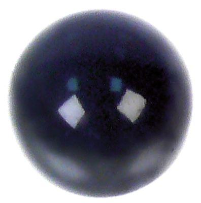 λαβή μπάλα σπείρωμα M5  ø 25mm μαύρο