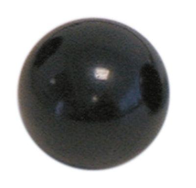 λαβή μπάλα σπείρωμα M10  ø 40mm με μεταλλικό δακτύλιο μαύρο