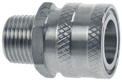 σύνδεσμος ολίσθησης τύπος DN13  Ανοξείδωτο ατσάλι σύνδεσμος 1/2″ εξωτερικό σπείρωμα