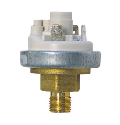 πρεσοστάτης ø 45mm εύρος πίεσης 400/360 mbar εύρος πίεσης 0,4/0,36 bar p max 1,02bar