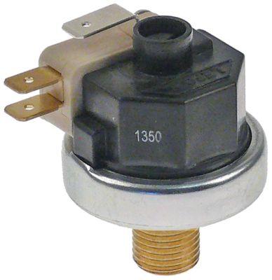 πρεσοστάτης ø 38mm εύρος πίεσης 0,5-1,2 bar εξαρτήματα μηχανής καφέ σύνδεση πίεσης, κατακόρυφη