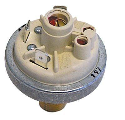 πρεσοστάτης ø 45mm εύρος πίεσης 0,9mbar σύνδεση πίεσης, κατακόρυφη έλεγχος ατμού