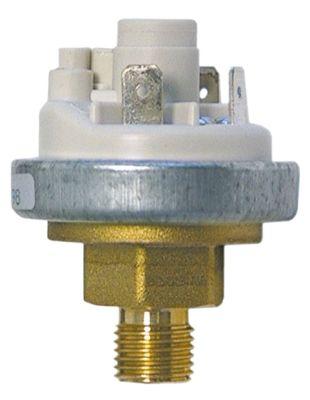 πρεσοστάτης ø 45mm σύνδεση πίεσης, κατακόρυφη έλεγχος ατμού εύρος πίεσης 0,44/0,38 bar