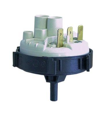 πρεσοστάτης εύρος πίεσης 50/30 mbar σύνδεσμος 6mm  ø 58mm σύνδεση πίεσης, κατακόρυφη πλύση κουζινικών