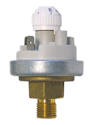 πρεσοστάτης ø 45mm εύρος πίεσης ρυθμιζόμενο 10-50mbar