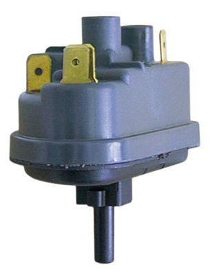 πρεσοστάτης εύρος πίεσης 85/55 mbar σύνδεσμος 6mm  ø 74mm σύνδεση πίεσης, κατακόρυφη πλύση κουζινικών