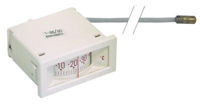 θερμόμετρο μετρήσεις στερέωσης 58x25,5 mm -40 έως +40°C σωλήνας τριχοειδής 1500mm