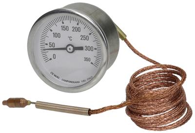 θερμόμετρο ø διάταξης στερέωσης 60mm Μέγ. Θ 350°C +50 έως +350°C ø αισθητηρίου 6,5mm