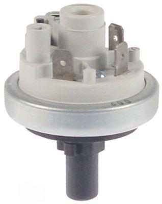πρεσοστάτης ø 45mm πίεση ενεργοποίησης 0,6bar πίεση επαναφοράς 0,4bar σύνδεση πίεσης, κατακόρυφη