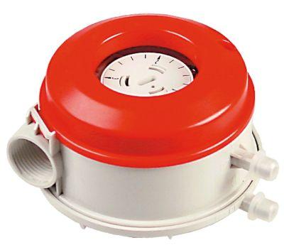 πρεσοστάτης εύρος πίεσης ρυθμιζόμενο 0,2- 3mbar σύνδεση πίεσης, οριζόντια τεχνολογία αερίου