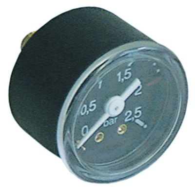 μανόμετρο ø 42mm εύρος πίεσης 0 έως 2,5bar σπείρωμα 1/8