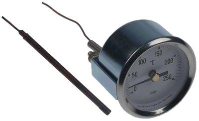 θερμόμετρο ø διάταξης στερέωσης 52mm Μέγ. Θ 250°C 0 έως +250°C ø αισθητηρίου 4mm Μ αισθητηρίου 74mm