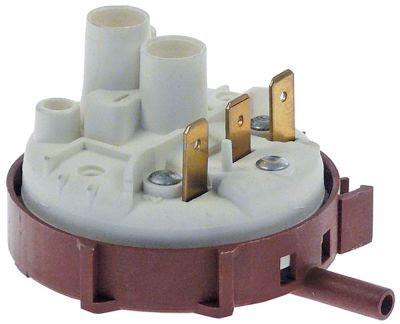 πρεσοστάτης εύρος πίεσης 56/25 mbar σύνδεσμος 6mm  ø 58mm σύνδεση πίεσης, οριζόντια προρυθμισμένο
