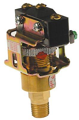 πρεσοστάτης εύρος πίεσης ρυθμιζόμενο 0,3-0,8bar σύνδεσμος 1/4″  CO  250V 10A