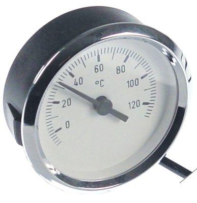 θερμόμετρο ø διάταξης στερέωσης 60mm Μέγ. Θ 120°C 0 έως +120°C ø αισθητηρίου 8.5mm