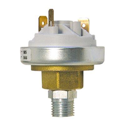 πρεσοστάτης ø 45mm σύνδεση πίεσης, κατακόρυφη έλεγχος ατμού σύνδεσμος αρσενικό εξάρτημα 6,3mm