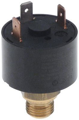 πρεσοστάτης ø 34mm σύνδεση πίεσης, κατακόρυφη έλεγχος ατμού εύρος πίεσης 0,2-6,0 bar