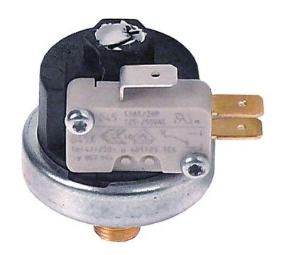 πρεσοστάτης ø 38mm εύρος πίεσης σταθερό 1,6bar σύνδεσμος 1/8″  1CO  16A