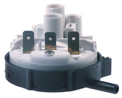 πρεσοστάτης εύρος πίεσης 85/50 mbar σύνδεσμος 6mm  ø 58mm σύνδεση πίεσης, οριζόντια