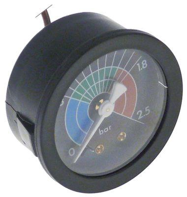 μανόμετρο εύρος πίεσης 0-2,5 bar ø 52mm σύνδεσμος 1/8