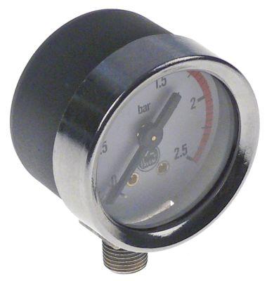 μανόμετρο ø 44mm εύρος πίεσης 2.5bar σύνδεσμος 1/8