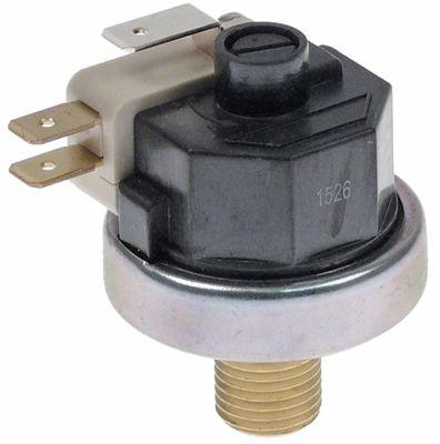 πρεσοστάτης εύρος πίεσης 0,5-1,5 bar σύνδεσμος 1/4″  16A τύπος LF25-2512 250V ø 38mm