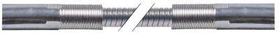 σωλήνας ψεκασμού συνδέσεις 1/2″  Μ 1075mm Ανοξείδωτο ατσάλι πίεση λειτ. 10bar