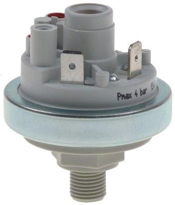 πρεσοστάτης ø 45mm εύρος πίεσης 200mbar για σύστημα καθαρισμού σύνδεσμος 1/4″