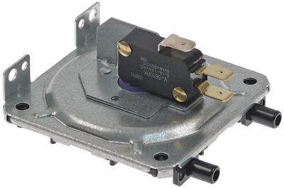 πρεσοστάτης ø 80mm πίεση επαναφοράς 0.4bar πίεση ενεργοποίησης 0.8mbar σύνδεσμος 7,5/10,5mm