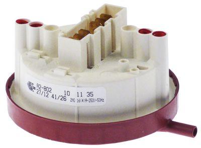 πρεσοστάτης 2 περιοχές πίεσης εύρος πίεσης 27/12  41/26 mbar σύνδεσμος 6mm
