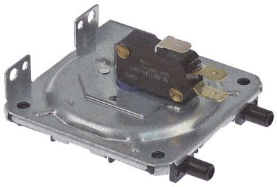 πρεσοστάτης εύρος πίεσης 0,3-6 mbar τεχνολογία αερίου 250V τάση AC