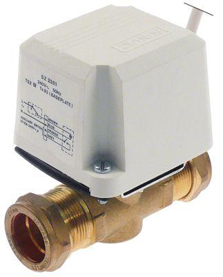 βάνα  είσοδος 28mm  έξοδος 28mm  με οριακό διακόπτη 230V Μ 100mm 50/60 Hz