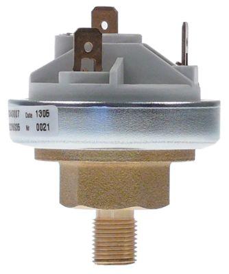 πρεσοστάτης ø 45mm πίεση ενεργοποίησης 0,5bar πίεση επαναφοράς 0,3bar σύνδεση πίεσης, κατακόρυφη