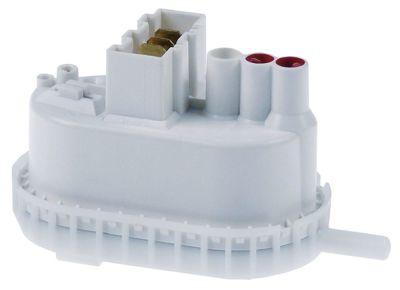 πρεσοστάτης εύρος πίεσης 75/50 mbar σύνδεσμος 6mm  μέγεθος 73x43 mm ø σύνδεσης πίεσης 5.5mm