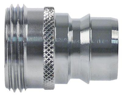βύσμα σύνδεσης σύνδεσμος 3/4″ εξωτερικό σπείρωμα  τύπος DN19