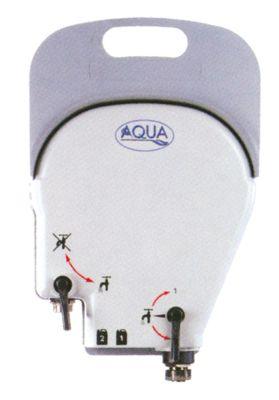 σύστημα πλυσίματος για 2 προϊόντα χωρίς διάταξη αποτροπής αντίστροφης ροής