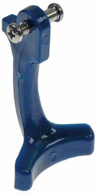μοχλός για δοχείο διανομής νερού πλαστικό μπλε