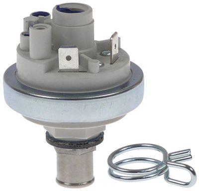 πρεσοστάτης ø 45mm εύρος πίεσης 150mbar με διπλό σφιγκτήρα σύρματος