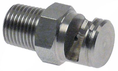 ακροφύσιο έγχυσης εσωτερική ø 1.1mm ø D1 11mm Μ 23mm ΜΚ 12 Ανοξείδωτο ατσάλι