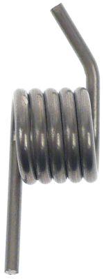 ελατήριο στρέψης ø 13mm Μ2 12mm ø διατομής σύρματος 2mm Μ1 12mm Μ3 12mm