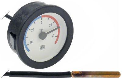θερμόμετρο ø διάταξης στερέωσης 52mm -40 έως +40°C ø αισθητηρίου 6mm Μ αισθητηρίου 50mm