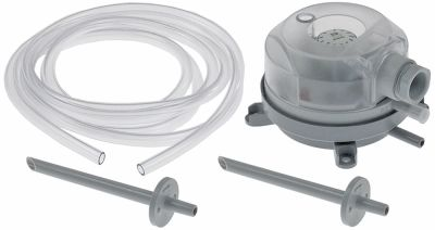 οθόνη παρακολούθησης πίεσης εύρος πίεσης 0,2-2,0mbar ø σύνδεσης πίεσης 6mm
