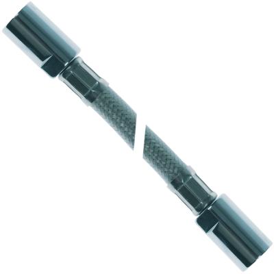 σωλήνας ψεκασμού συνδέσεις 1/2″  Μ 1200mm Ανοξείδωτο ατσάλι πίεση λειτ. 10bar