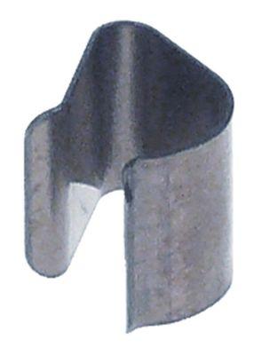έλασμα αισθητήρα για ø σωλήνα 8,5mm για ø αισθητηρίου 4mm Ποσ. 1 τεμ.