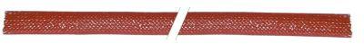 μόνωση σωλήνα ø αναγν. 3mm Ποσ. 10m πλεξούδα ινών γυαλιού με επικάλυψη σιλικόνης